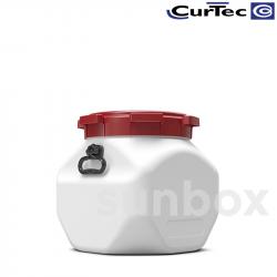 40L Liter Quadratisches fass