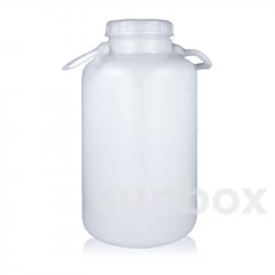 10L Versiegelbare Zylindrisch Flasche