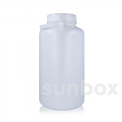 5L zylindrische Flasche