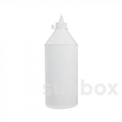 1000ml weiche Flasche mit Röhrchen