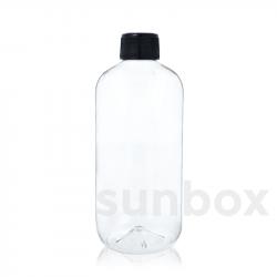 500ml Transparent BIR Flasche