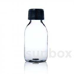 125ml B-PET transparent Flasche