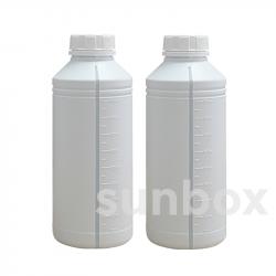 1L Flasche mit Visor