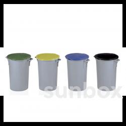 80L Mülleimer ohne Trethebel