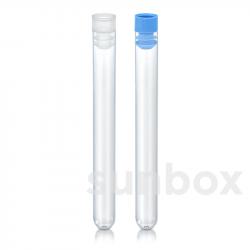 15ml zylindrische Einweg-Reagenzgläser