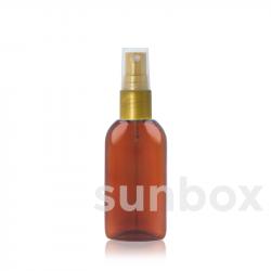 50ml amber OVAL SUN Flaschen