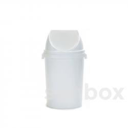 40L Mülleimer mit Schwingdeckel