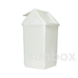 8 Liter Mülleimer mit Schwingdeckel