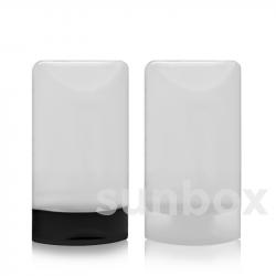 35ml Tubenflasche mit Flip-Top Verschluss. 50 Einheiten Pack