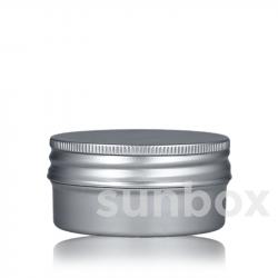 50ml Aluminium Pillendosen