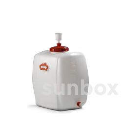 150 Liter Tank mit Hahn
