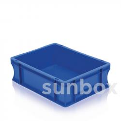 25L Blau Stapelbarer NE Kasten (60x40x10cm)