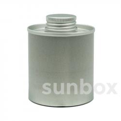 100ml Aluminium SCATOLA Gewinde24