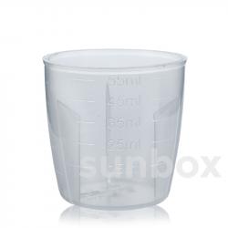 60ml Dosierglas mit Graduierung für Aluminiumkappe